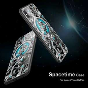 Casing Slim Armor Case Cover iPhone XS Max - NILLKIN Spacetime New