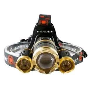 Headlamp XML T6 10000 lumens.