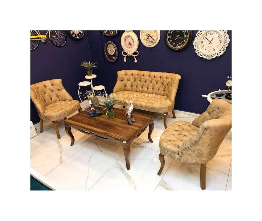 Kursi Sofa Meja Tamu Minimalis Modern Klasik Kayu Jati Jepara Murah Mebel 756056889