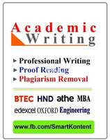 ACADEMIC Assignments Writing, Projects, Articles & Proof Reading- HND