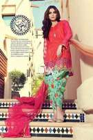 MARIA B (Net Embroidered Dupatta Lawn Collection 2018)