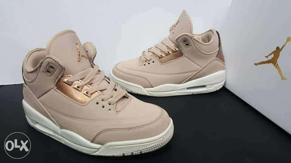 7dcaf6768487 Air Jordan 3 Rose gold for Women in Manila