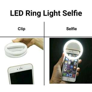Lampu Ring Selfie LED Charm Light