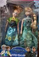 Frozen and new fever doll set collection