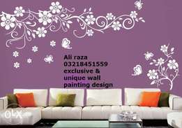 bedroom wall painting ideas pictures