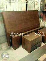 Awami bed with sider table.high quality furniture