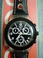 Swatch black swiss