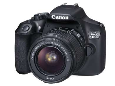 Canon EOS 1300D with 18-55mm f3.5-5.6 IS II Kredit Cepat.