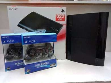 SPECIAL EDITION Ps3 Super Slim Hdd 250gb 2 Stick Warlles Full Games