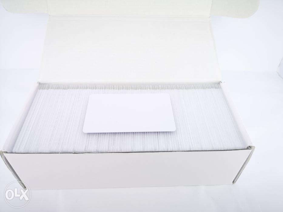 Business Cards Low Frequency Plastic Blank 125khz Tk4100 Blank Chip Card