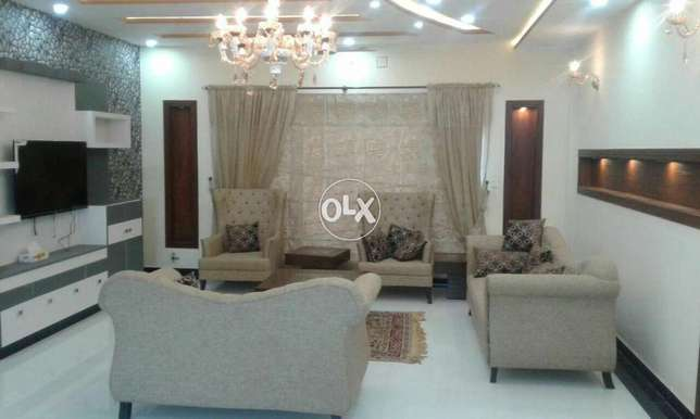 One kanal fully furnished Ground Portion for rent Bahria ph3 Islamabad