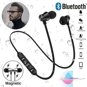 Headset Bluetooth Sports XT11 Magnetic / Earphone Sports Stereo