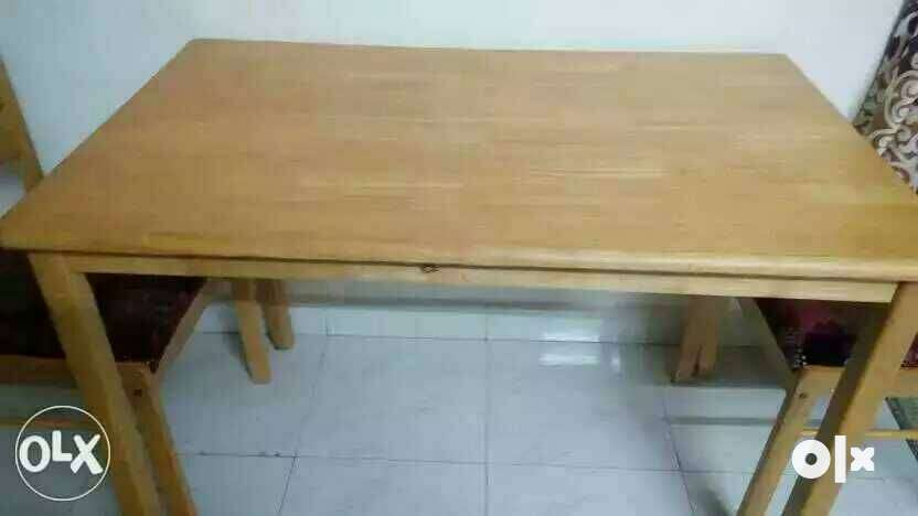 Wooden table with 4 chair in excellent condition Mumbai  : images1000x700inslot3filename5481igx51epa2 IN from www.olx.in size 832 x 468 jpeg 20kB