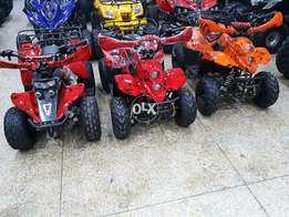 LED SPECIAL KIDS model 70cc quad with speed lock & long back grill ATV
