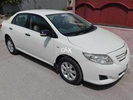 Toyota Corolla 1300 CC White Lahore Number