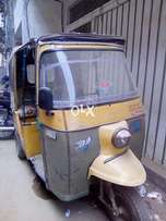 CNG Rickshaw for sell running condition model 2010