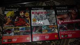 playstation 2 DVD only 3 pice