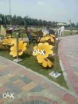 Bahria Orchard: 10 marla possession paid plot 111 Central