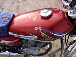 Honda CG 125 Only 7000 km driven Just like nw