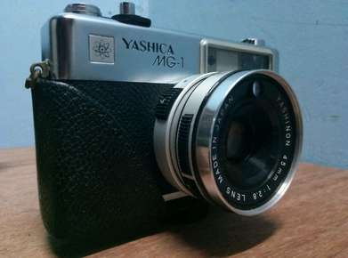 kamera yashica mg-1 klasik buat pelengkap photo product