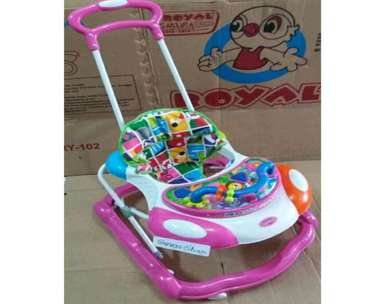 baby walker pink royal