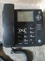 General electric corded phone with caller id and speaker phone