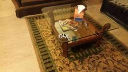 3pc Set Beautiful Glass 12mm Tables 4 Tv Lounge & Drawing Room Use