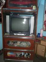 Used, Black CRT TV With Brown W... for sale  Jamshedpur