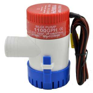 Pompa Air Submersible Water Bilge Pump 12V - MKBP-G1100-12 - White