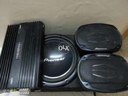 Sound system complete for car audio