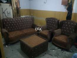 5 Seater sofa with 3 by 3 size table