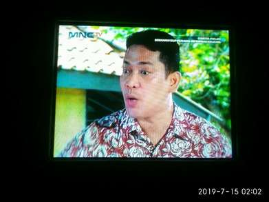 jual Tv 21 in Slim layar datar normal nego