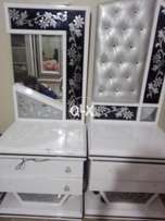 Dressing divider and side tables