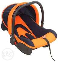 Adjustable carry cot with car seat