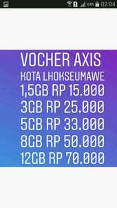 vocher axis full 24jam bebas