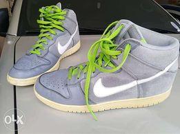 size 40 f73dc a39d1 Nike Dunks Denim High size11 mens like Jordan kobe lebron kyrie harden