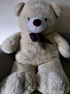 Boneka Teddy Bear Besar Cream