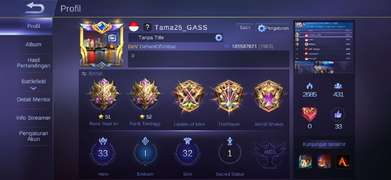 akun mobile legend mhytic