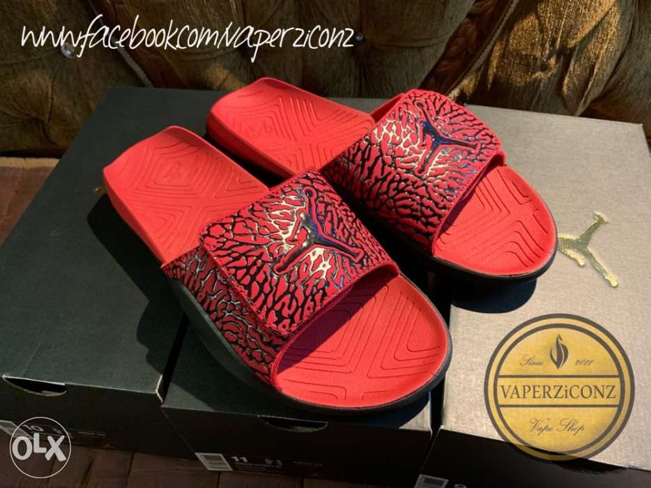 f90564d8afcc74 Jordan Hydro 7 V2 Slides Sandals Nike Hydro VII Version 2 in Las ...