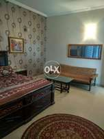 Dha phase 8 1 bed with attach bath lounge students multinationals cal
