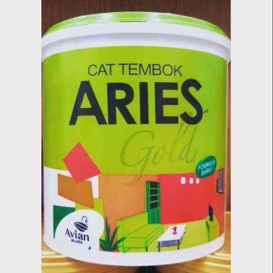 Cat Tembok Interior Aries Gold 4 5kg Dekorasi Rumah 779299431