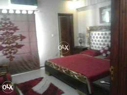 one Bedroom Flat fully Furnished for rent in Bahria Town rwp Ph 5