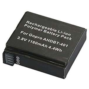 Rechargeable Li-Ion Battery 1160mAh for Gopro Hero 4 / Hero 4+