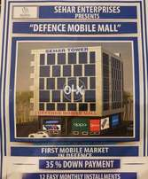 First Mobile Mall of Defence DHA Prime location shops Booking