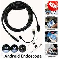 Android OTG USB Endoscope HD Camera Flexible Snake Pipe Inspection