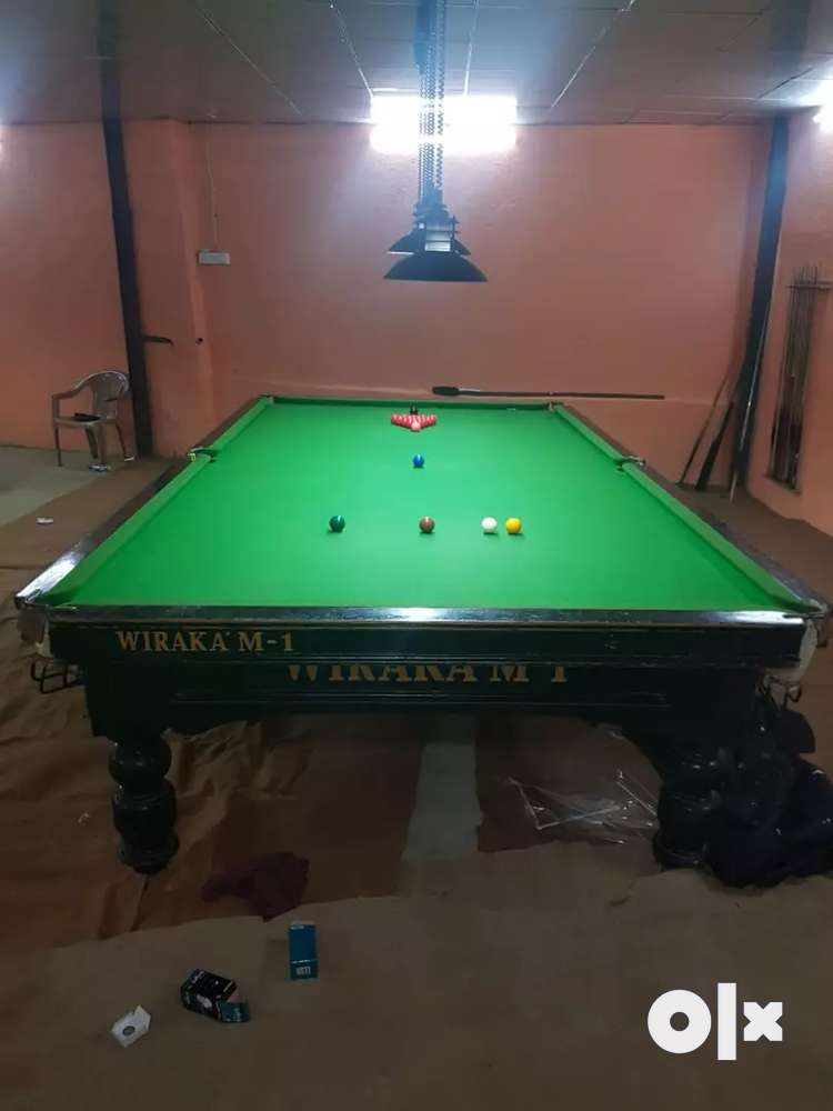 snooker table used sports equipment for sale in mumbai olx rh olx in