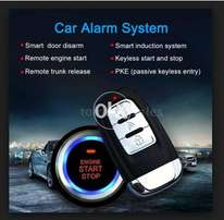 "4 in 1 ""Remote Start"" + Keyless Entry + Push Start + Security Alarm"