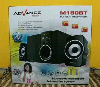 Speaker Aktif Bluetooth Advance M180BT Bluetooth baru