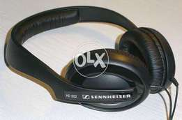 Sennheiser HD 202-II On Ear Headphones A+Condition