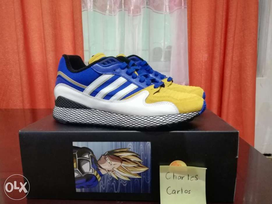 online store 3bfdc 6c730 Adidas Ultra Tech Dragon Ball Z Vegeta